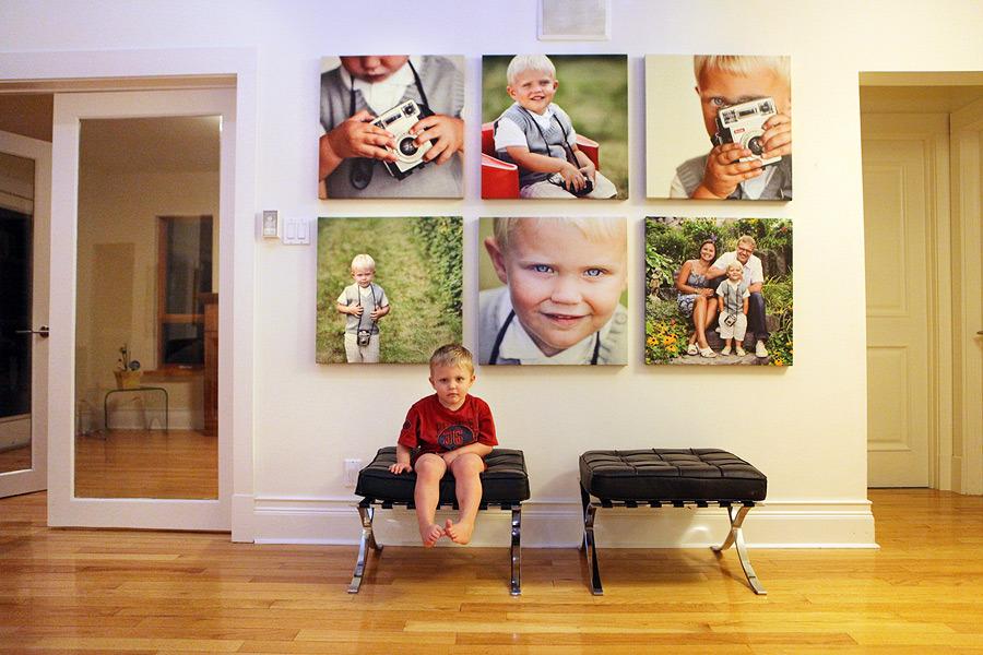Indramning af foto og billeder