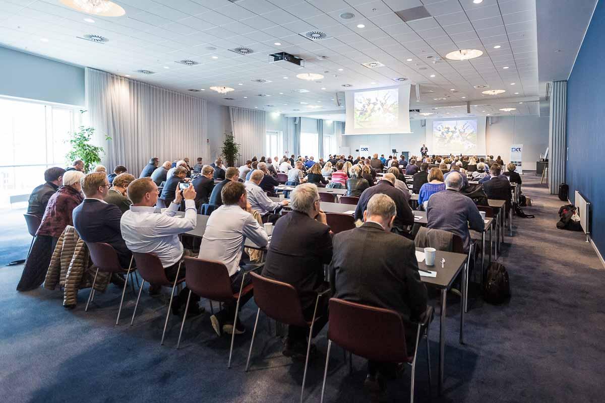 gruppe ved konference Aalborg